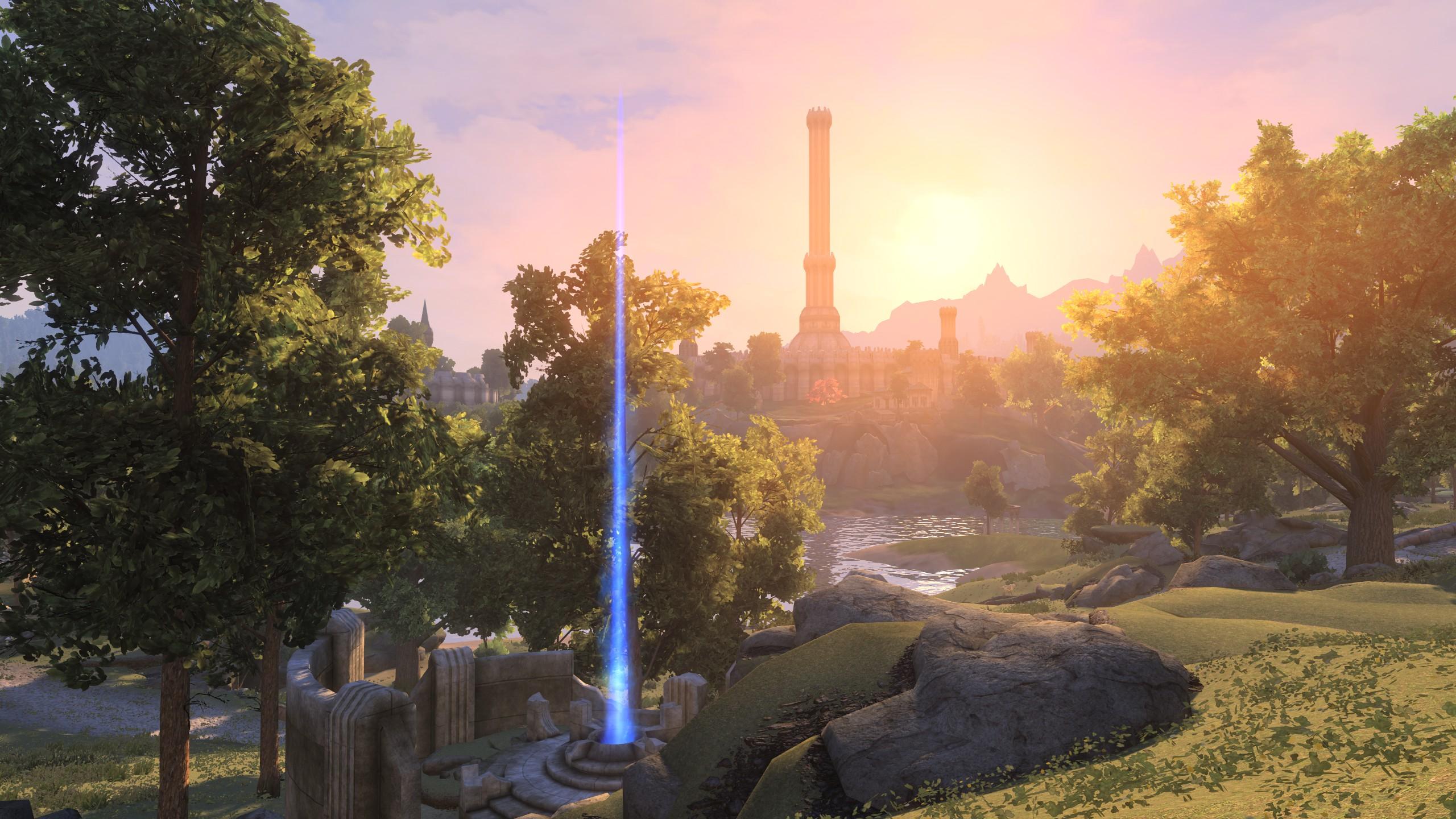 Dentro de Skyblivion, el remaster de Oblivion se desarrolló en Skyrim 21