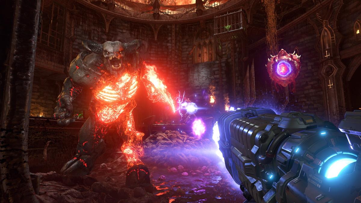 Doom Eternal consigue 100.000 jugadores simultáneos en Steam 1