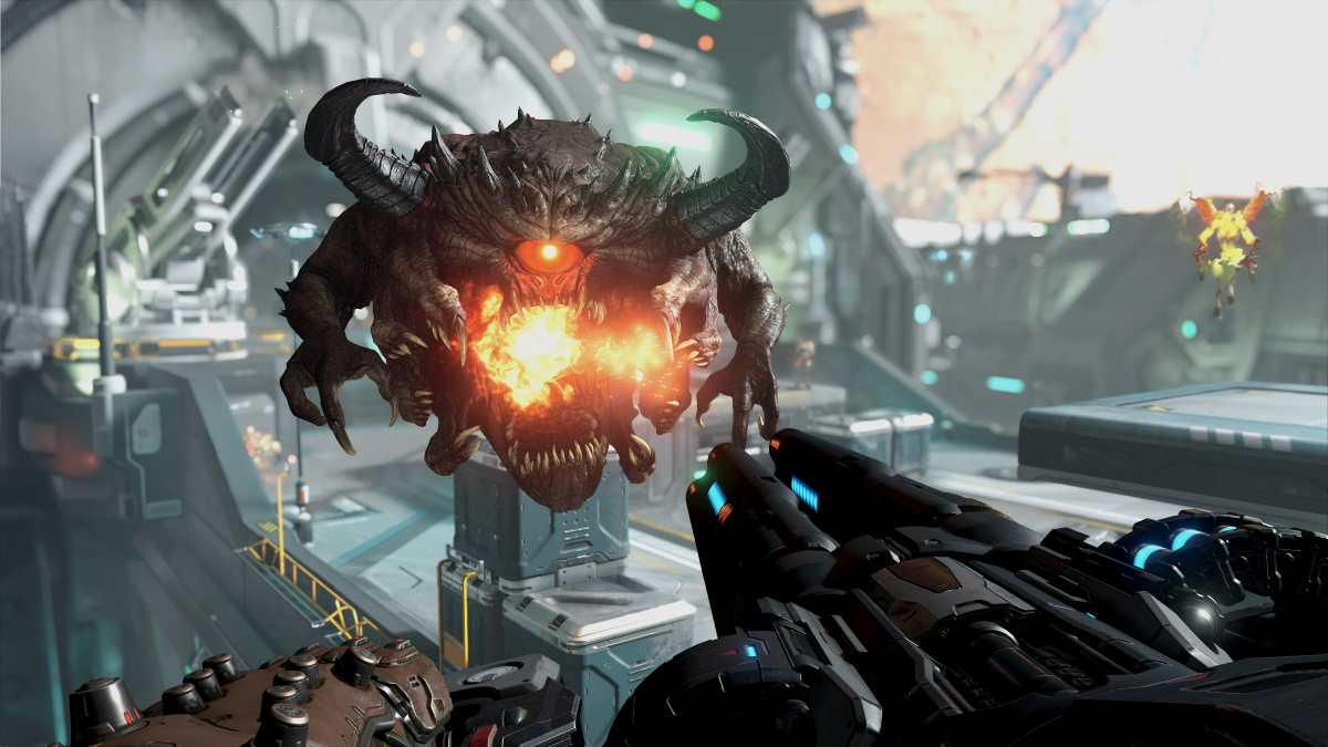 See Which Of The Doom 2 Hell On Earth Demons Made It Into Doom Eternal Vg247