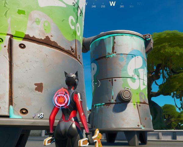 Fortnite: Capítulo 2 - Dónde encontrar barriles, camiones y silos Slurp 2