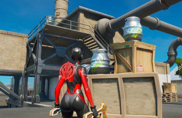 Fortnite: Capítulo 2 - Dónde encontrar barriles, camiones y silos Slurp 3