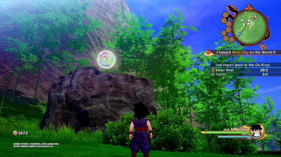 Guía de Dragon Ball Z Kakarot: cómo obtener medallas D, Zeni y orbes Z 5