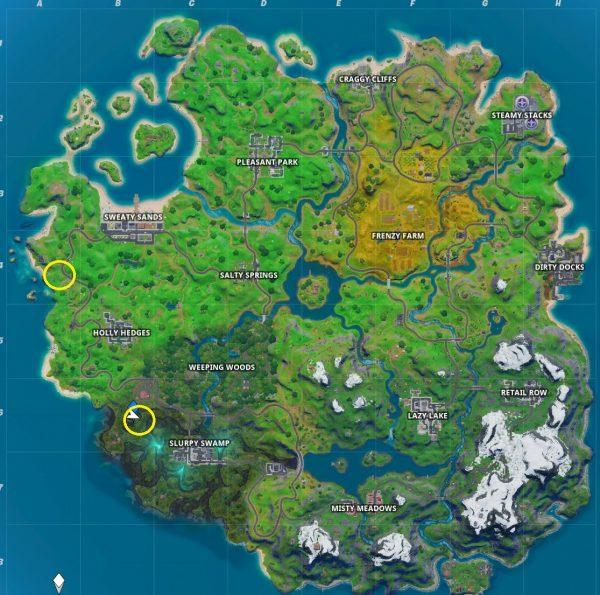 Fortnite: Capítulo 2 - Dónde encontrar los gnomos ocultos 2