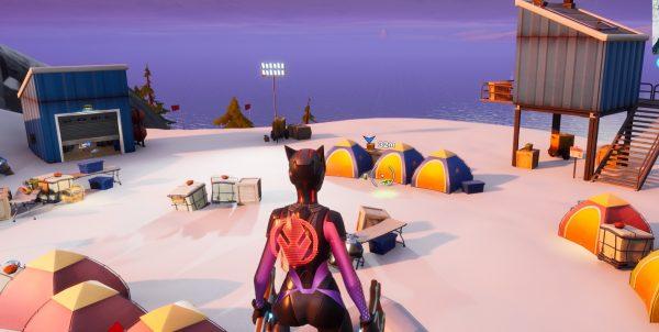 Fortnite: Capítulo 2 - Dónde encontrar los campamentos base de montaña 2