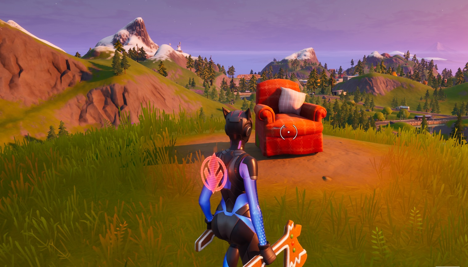 Fortnite Chapter 2 Visit A Lonely Recliner A Radio Station And An Outdoor Movie Theater Vg247