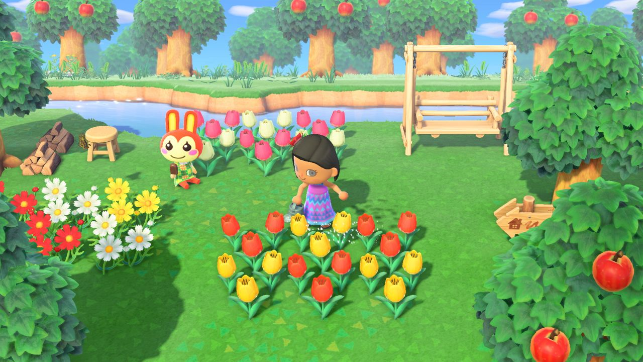 Animal Crossing New Horizons Flowers guide: cruzamiento para obtener flores híbridas 54