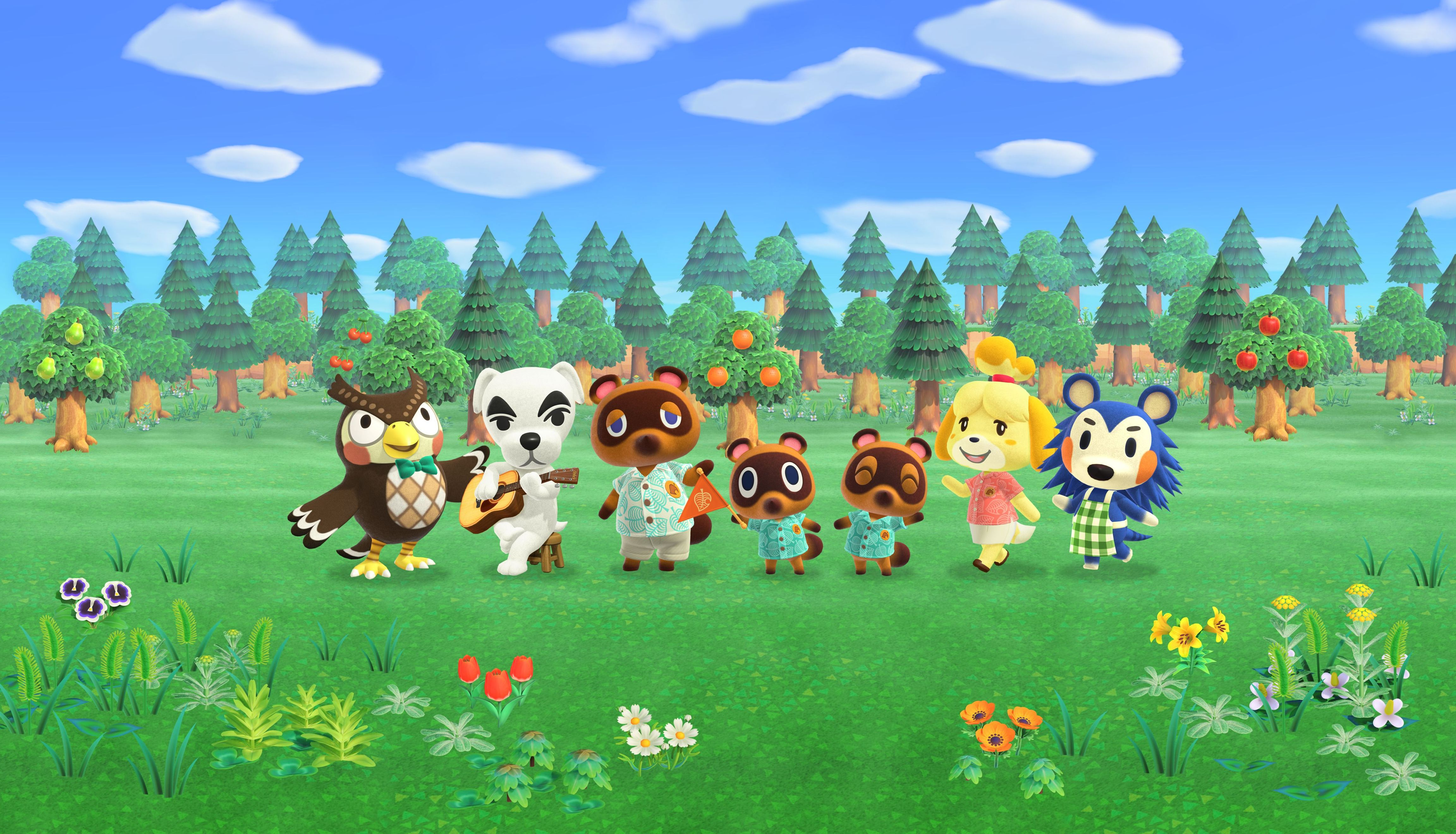 Animal Crossing New Horizons Any Villager in boxes TREASURE ISLAND 1 Hour loot