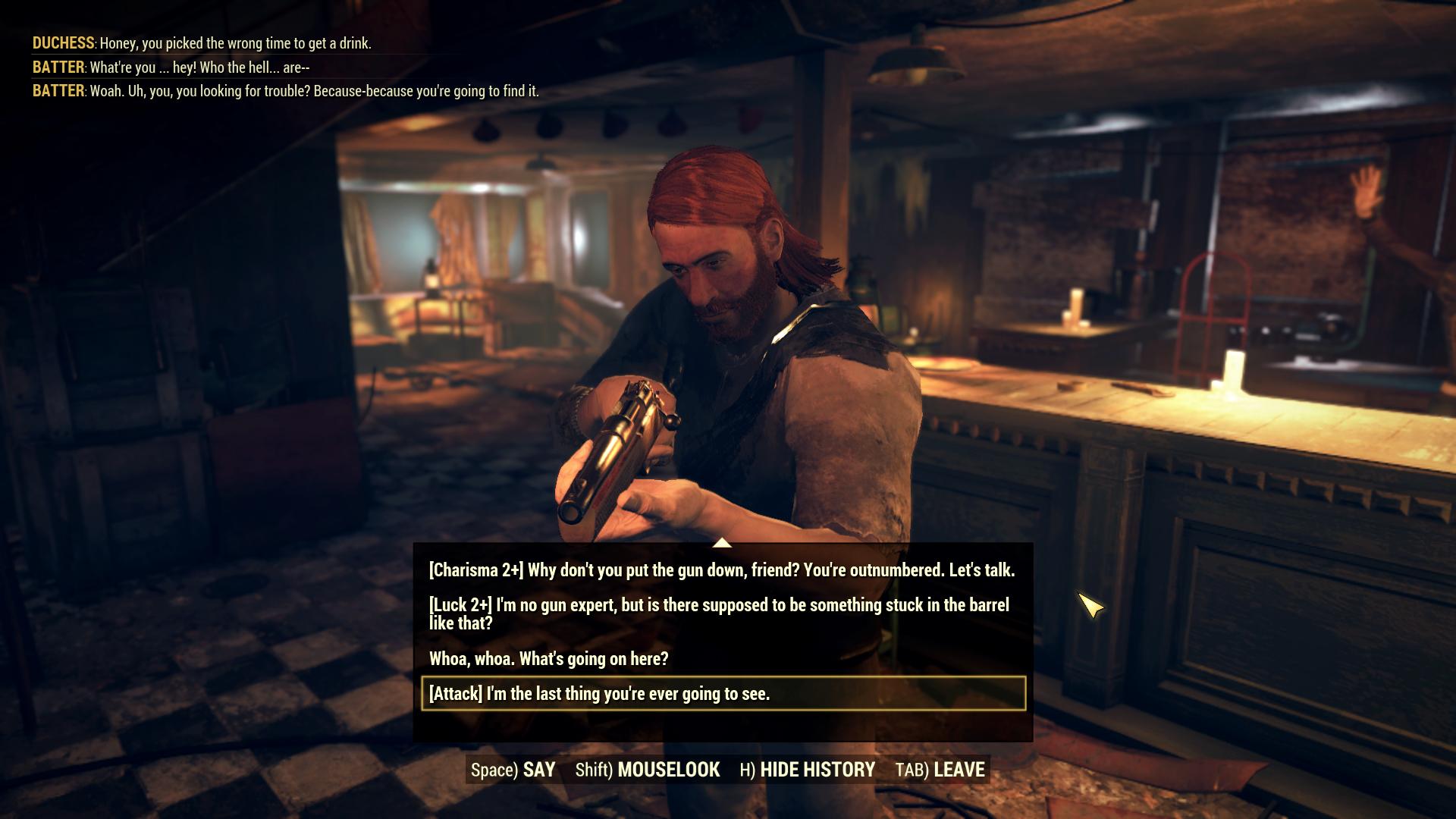Las opciones de diálogo serán importantes en la actualización de Fallout 76 Wastelanders 5