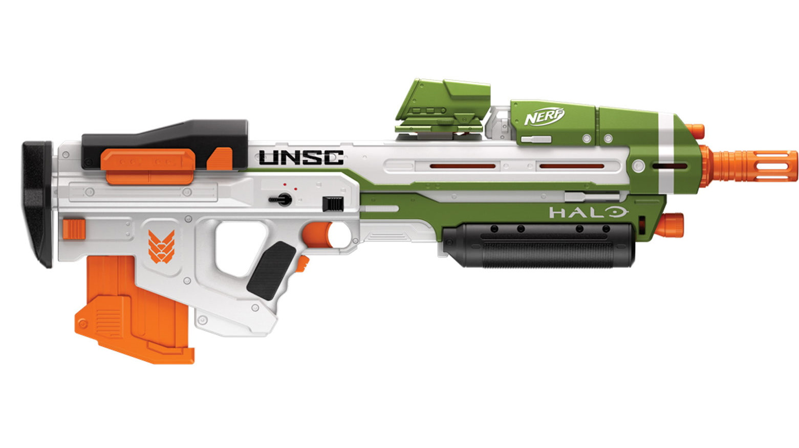 Upcoming Halo Infinite Nerf guns confirm weapon skins, hint at release date - VG247