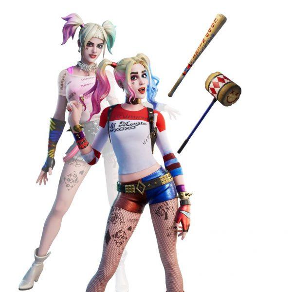 Fortnite: desafíos siempre fabulosos de Harley: aspecto alternativo de Harley Quinn 2