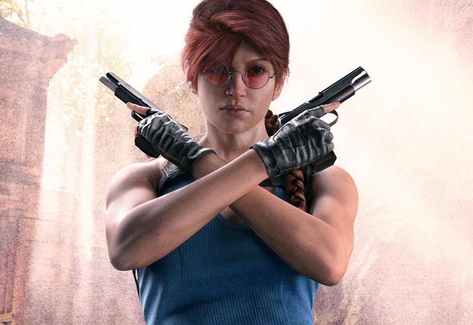 Lara Croft in Rainbow Six Siege looks like your mum doing bad cosplay - VG247
