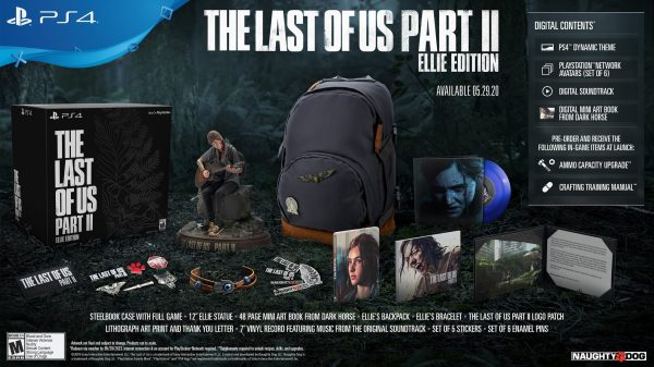 The Last of Us Part II: Ellie Edition se reabastece mañana 2
