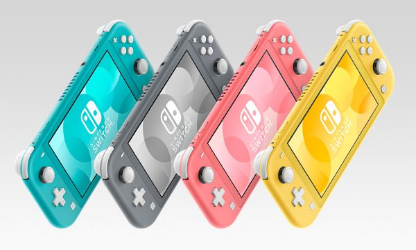 Nintendo Announces New Coral Switch Lite, Goes on Sale in March