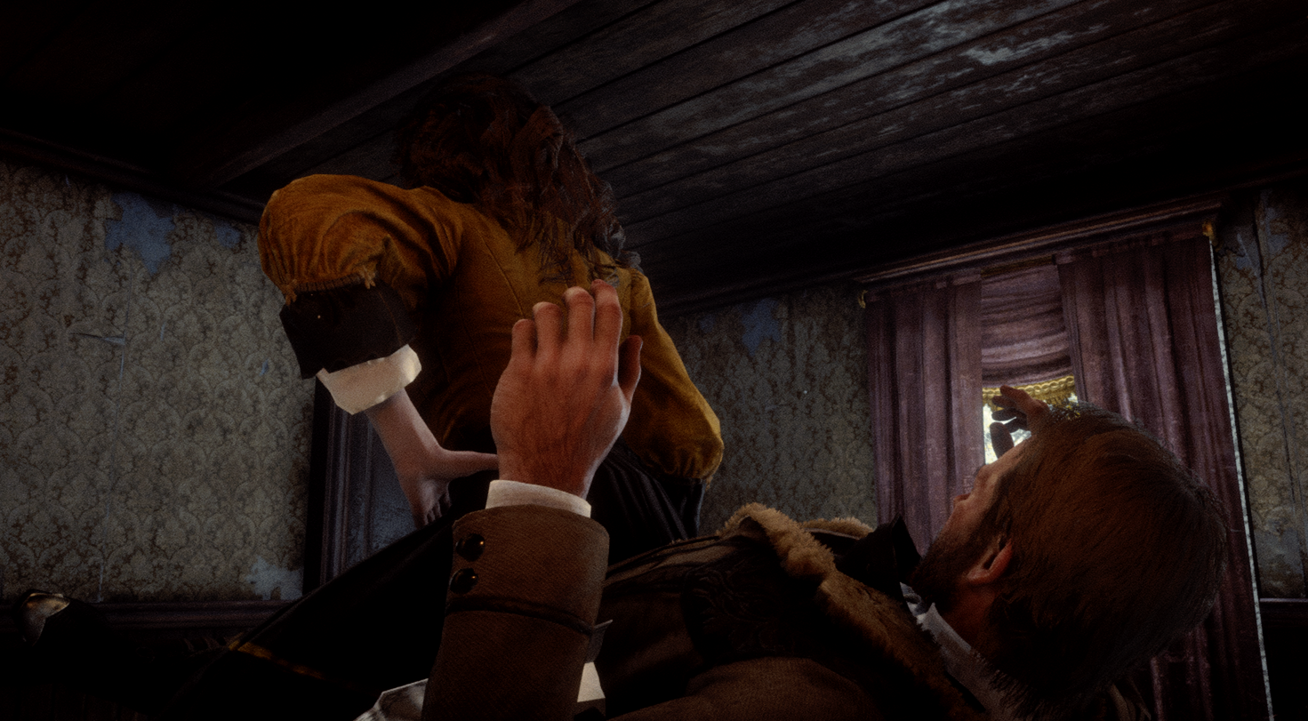 Red Dead Redemption 2's Hot Coffee mod lets Arthur enjoy a reverse cowgirl - VG247