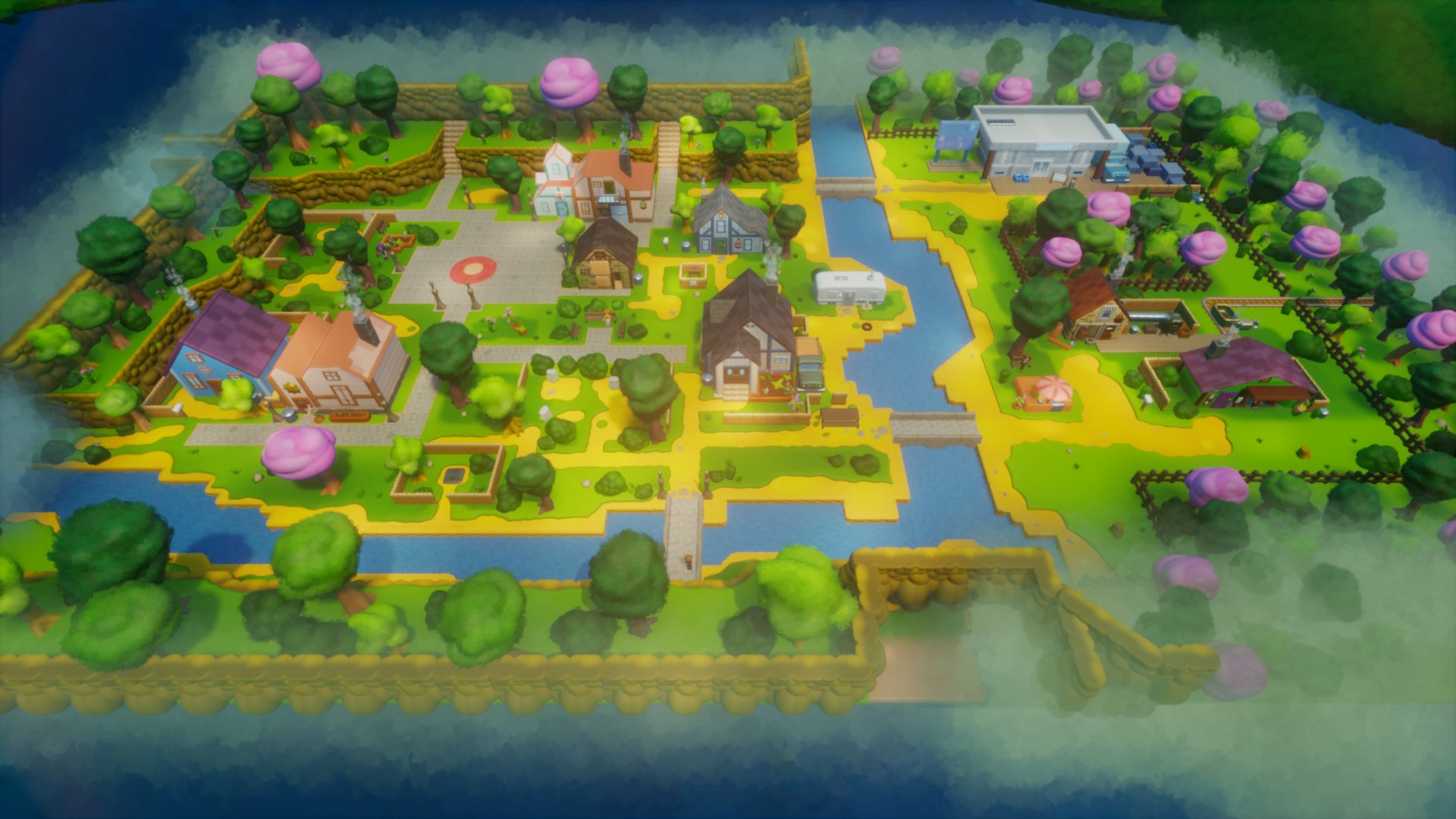 Stardew Valley's Pelican Town looks lovely in 3D – created in Dreams - VG247