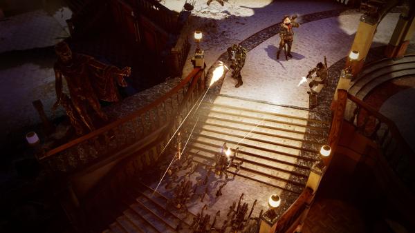 Wasteland 3 in-game screenshot.