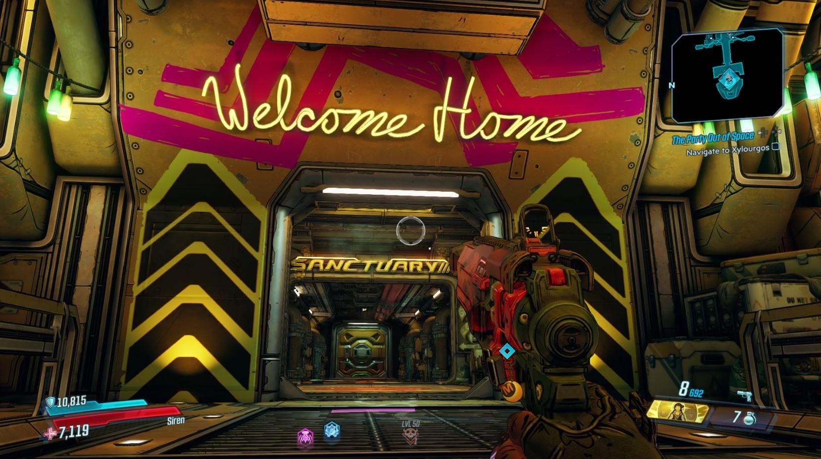 Borderlands 3 - Cómo obtener la escopeta The Cure y lo que significan los íconos de la araña rosa 7