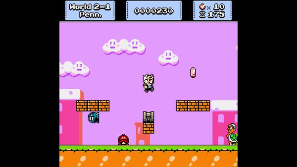 El clon político de Mario, Super Bernie World, está en la cima de las novedades y tendencias de Steam 14