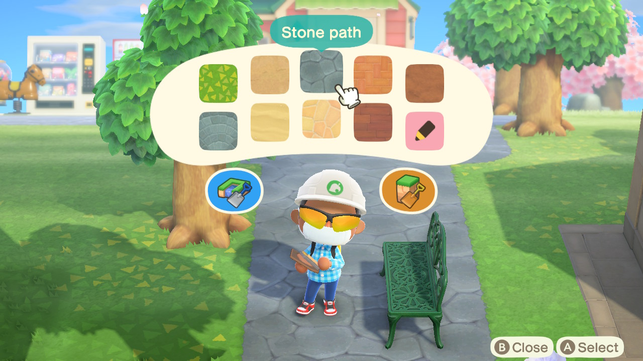 Animal Crossing New Horizons How To Build Paths And Terraform