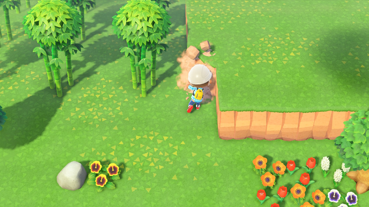 Animal Crossing New Horizons how to build paths and terraform ...