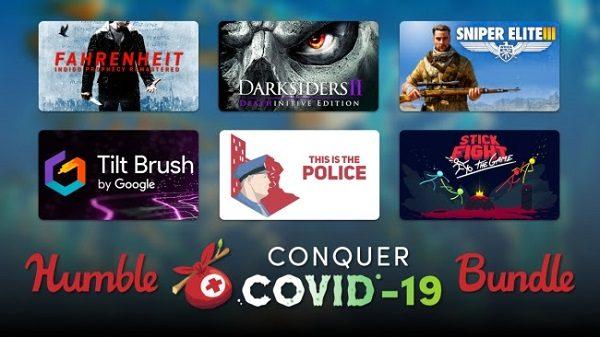 El paquete COVID-19 de Humble Conquer ayuda a organizaciones benéficas que luchan contra la pandemia 9