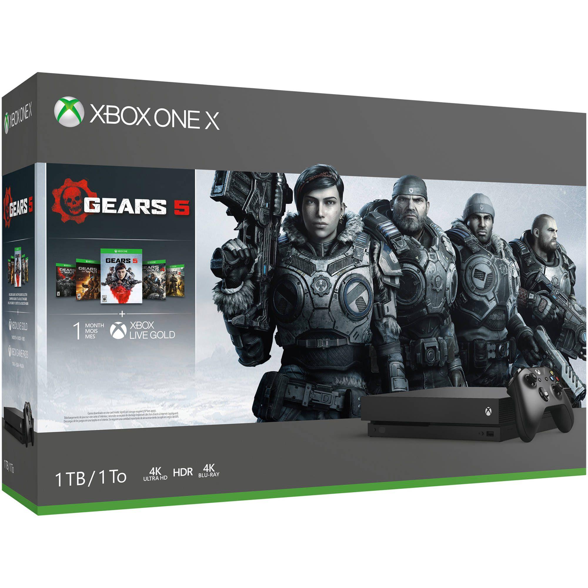 Los paquetes de Xbox One X ahora tienen un descuento de $ 100 en Microsoft Store 68