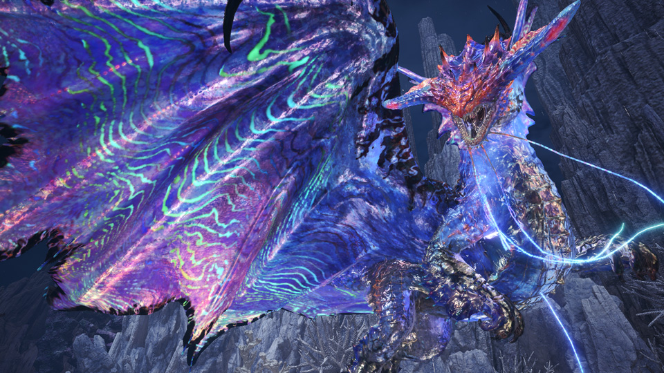 Tomorrow's Monster Hunter World: Iceborne update adds Arch-tempered Namielle