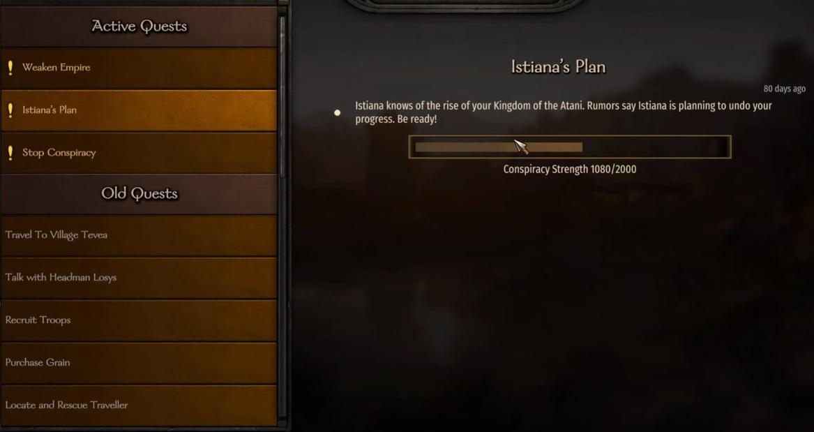 Mount and Blade 2: Bannerlord - Guía de búsqueda de conspiración 97
