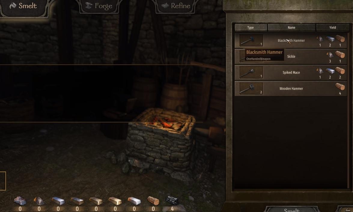 Mount and Blade 2: Bannerlord: cómo mejorar tu habilidad de herrería, configurar un taller y encontrar carbón 11