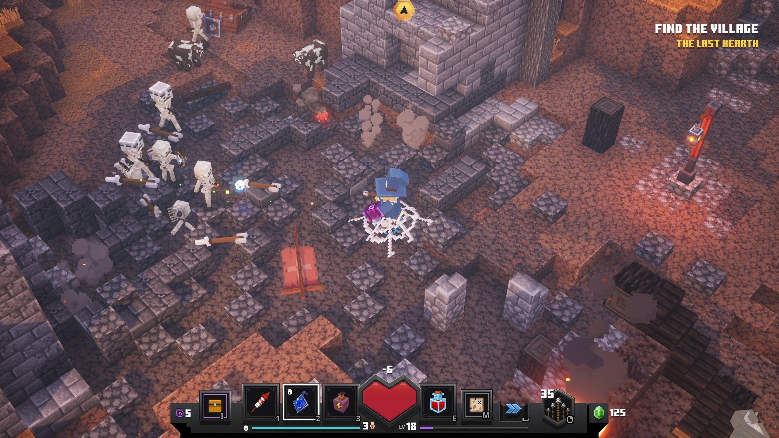 Minecraft Dungeons review: block-rocking beatdowns - VG9