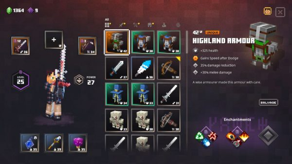 Minecraft Dungeons Best Armor Which set should you choose? VG247