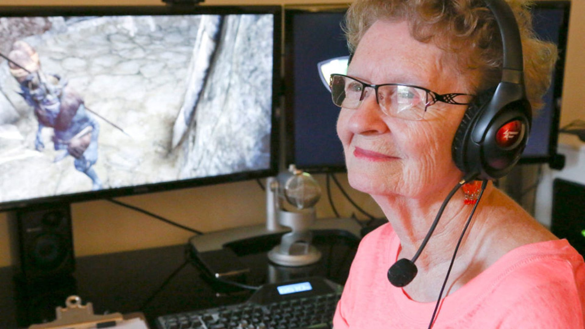 YouTuber Skyrim Grandma announces she is scaling back streams for the sake of her health after receiving onslaught of patronizing comments - VG247