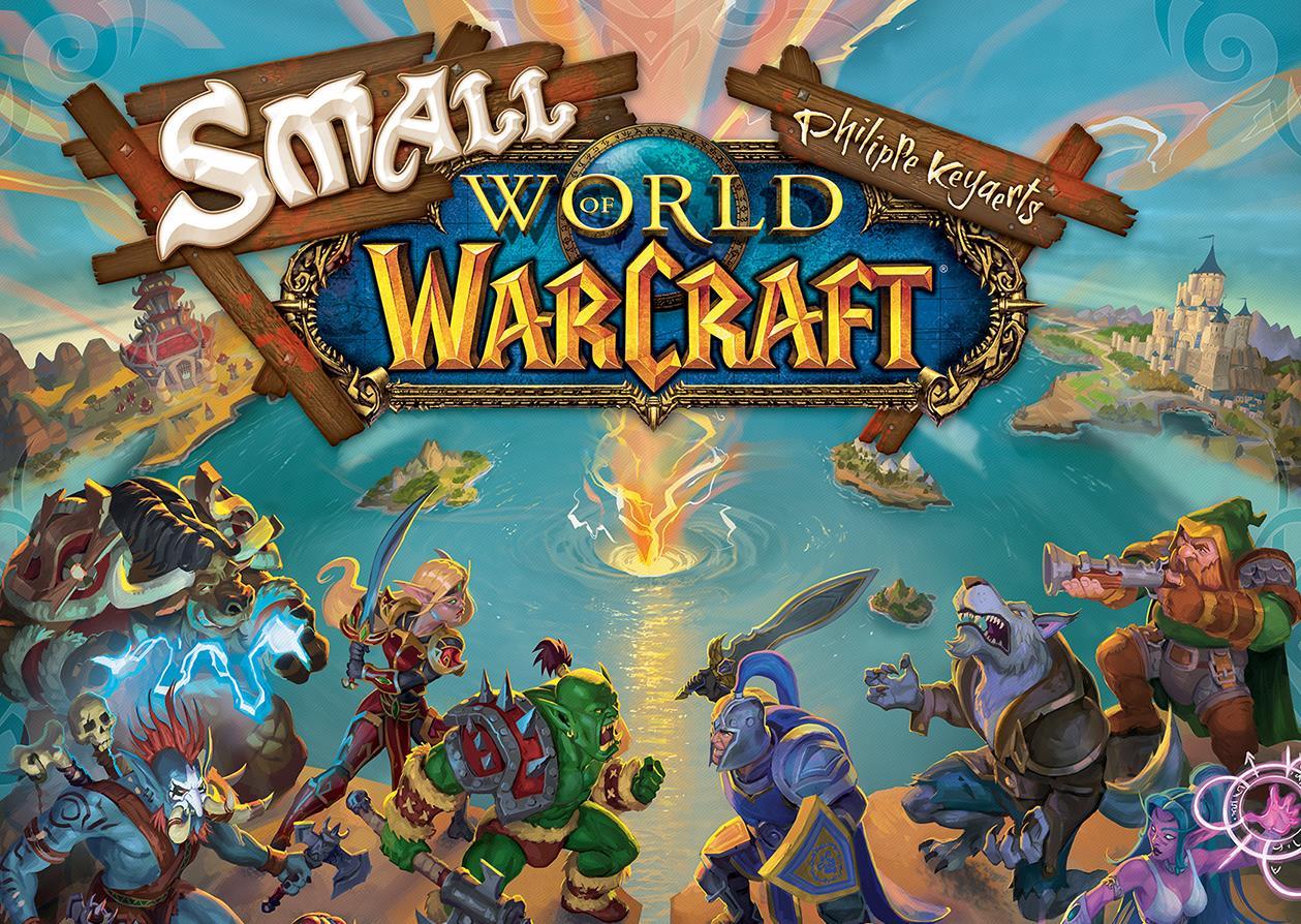 Small World of Warcraft es un juego de mesa con una linda versión de Warcraft 8