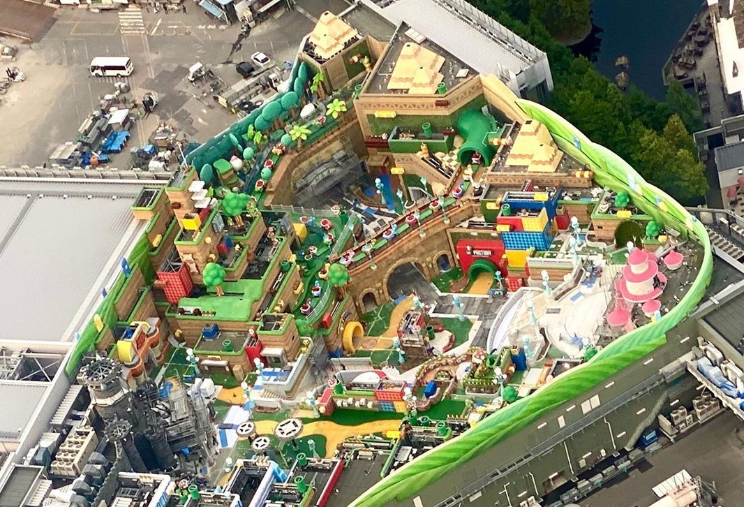 Super Nintendo World video gives us a better look at the park