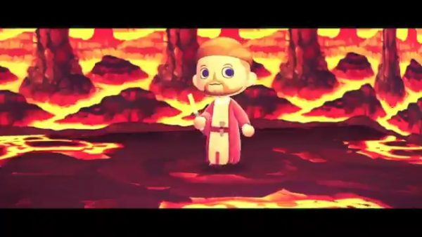 Revenge Of The Sith Scene Recreated In Animal Crossing New Horizons Is Pretty Solid Vg247