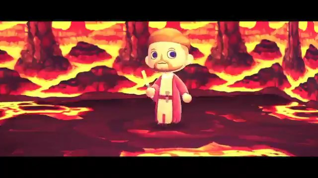 Revenge of the Sith scene recreated in Animal Crossing: New Horizons is pretty solid - VG247