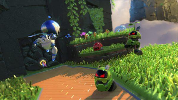 Astro's Playroom PS5 screenshot showing GPU Jungle zone.