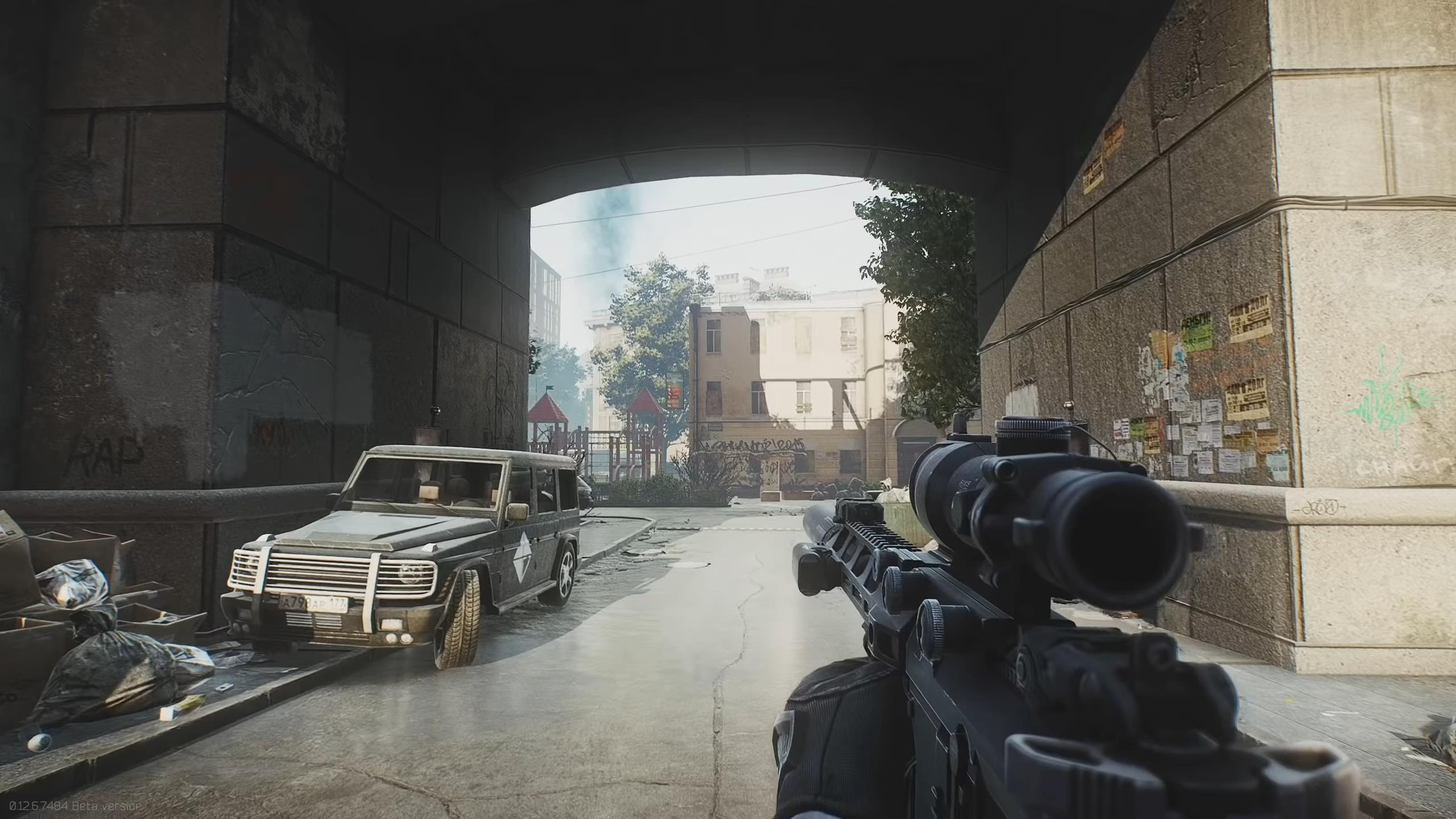 Here S Our First Look At Escape From Tarkov S New Map Vg247