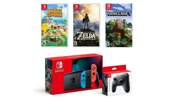 One of the Nintendo Switch bundles in stock at GameStop
