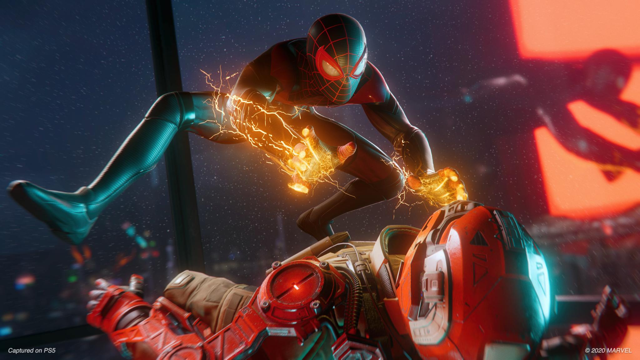 Cómo las habilidades de Venom cambian el combate en Spider-Man: Miles Morales