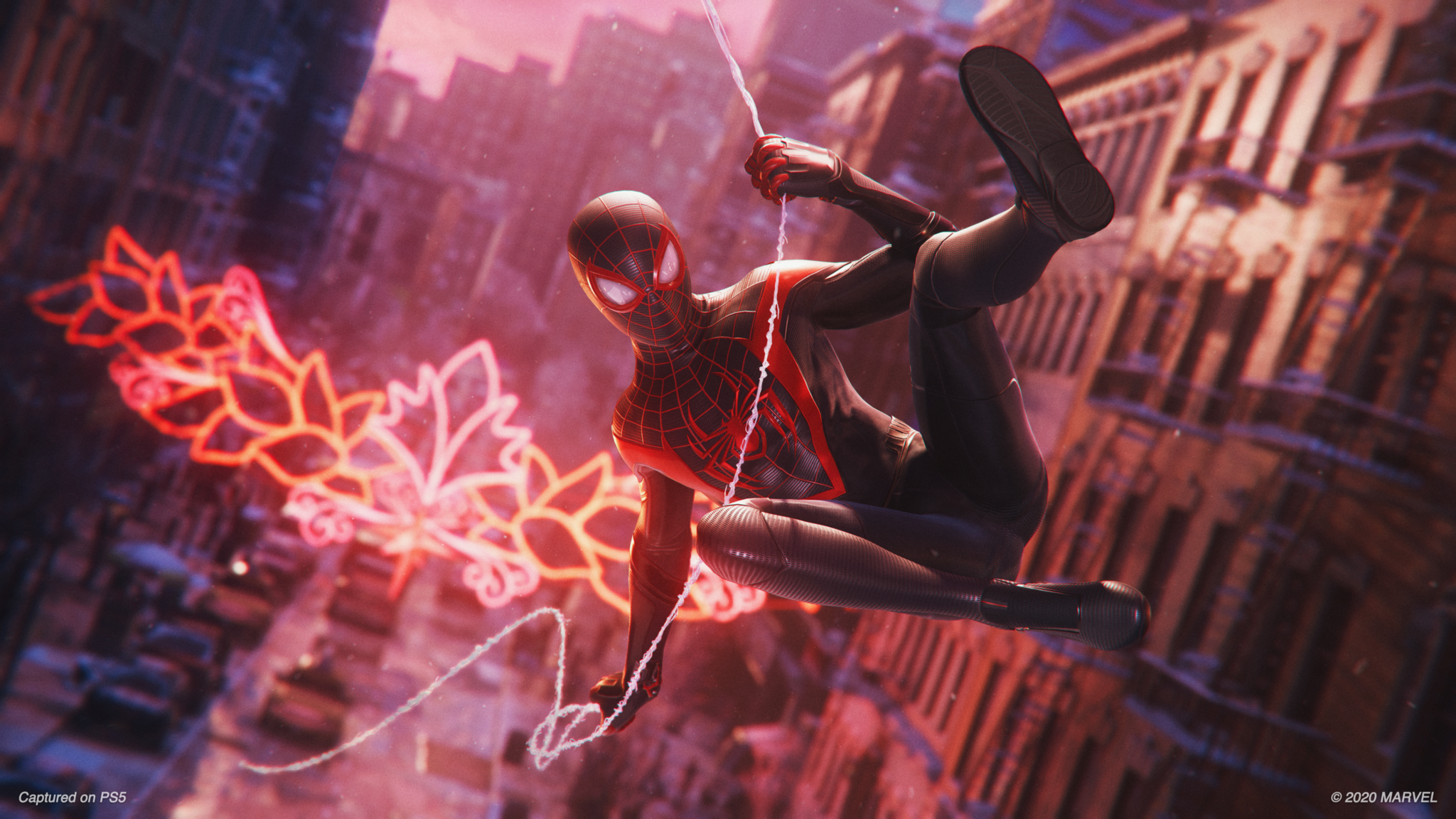 Here's a better look at Spider-Man: Miles Morales gameplay