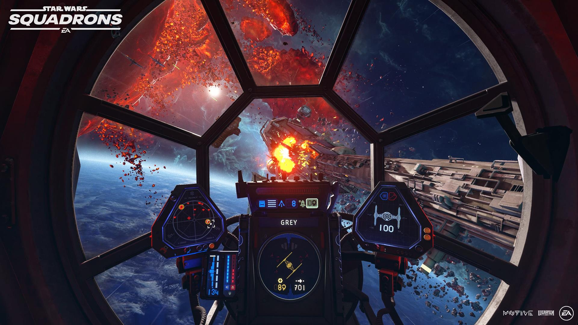 Star Wars: Squadrons will feature HOTAS support on consoles thumbnail
