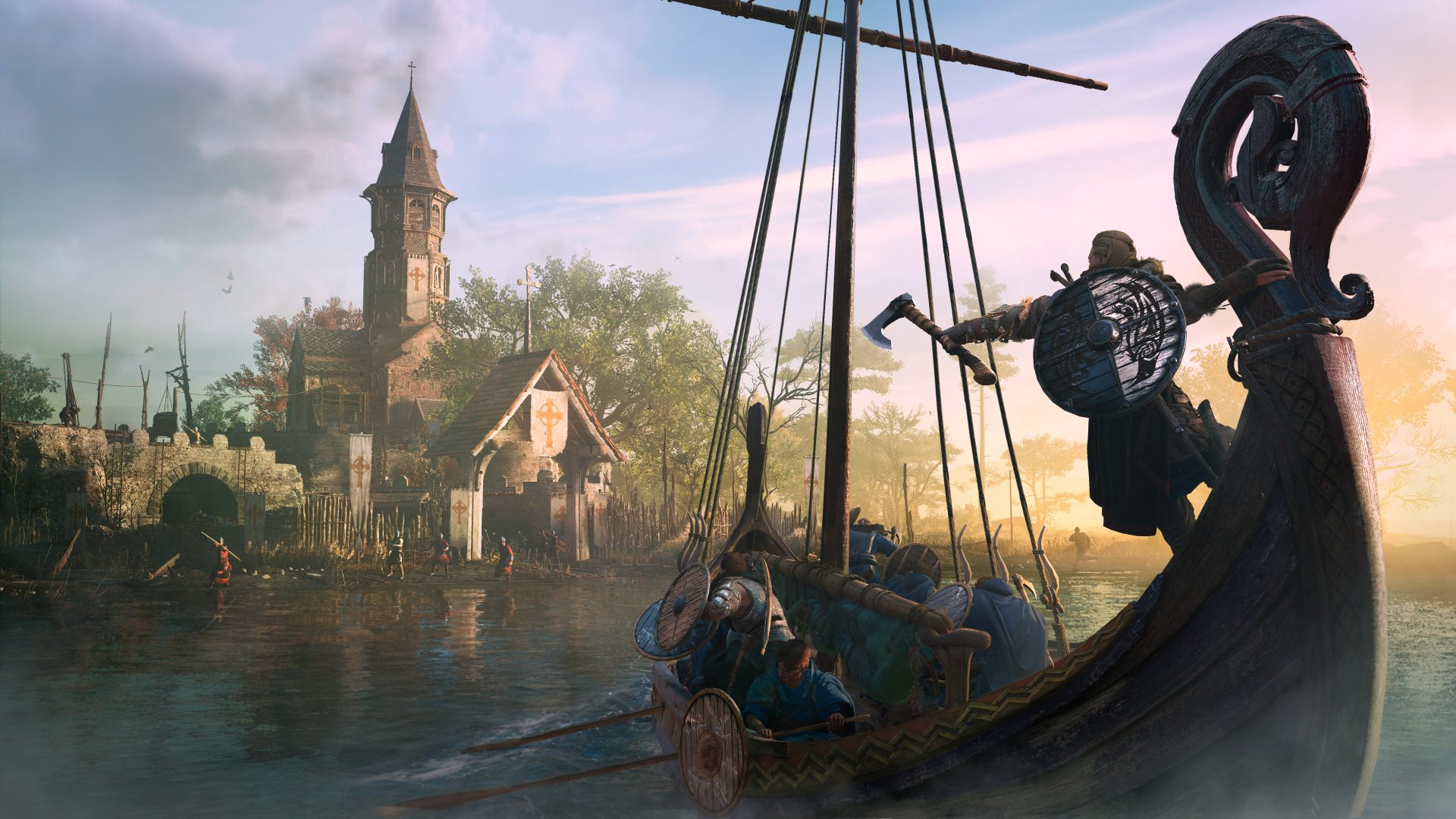 Assassin's Creed Valhalla preview: the grittiest, goofiest Assassin's Creed yet