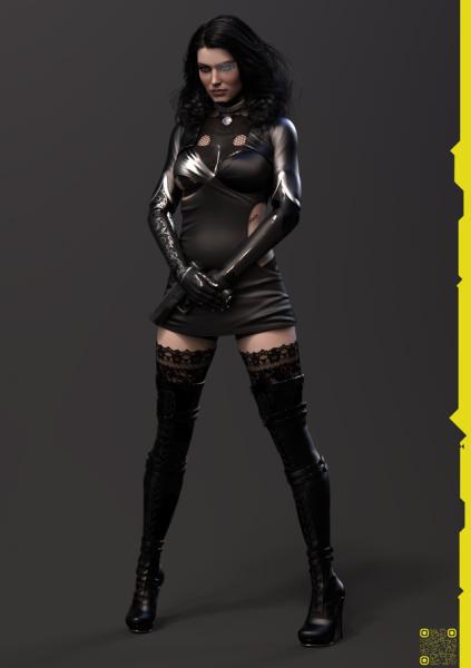 Cyberpunk 2077 Yennefer