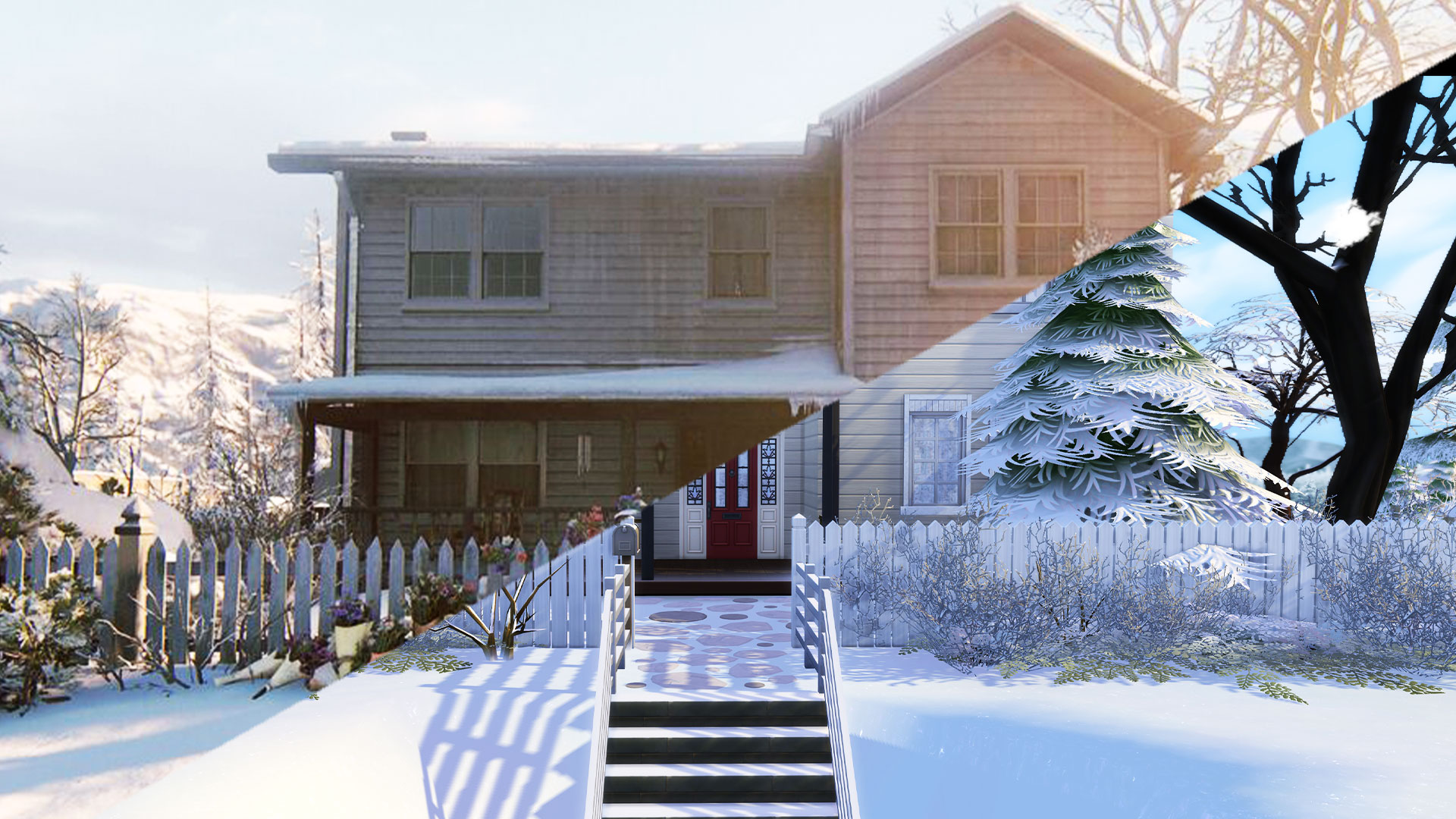 Watch as we build Joel's house from The Last Of Us 2 in The Sims 4 thumbnail