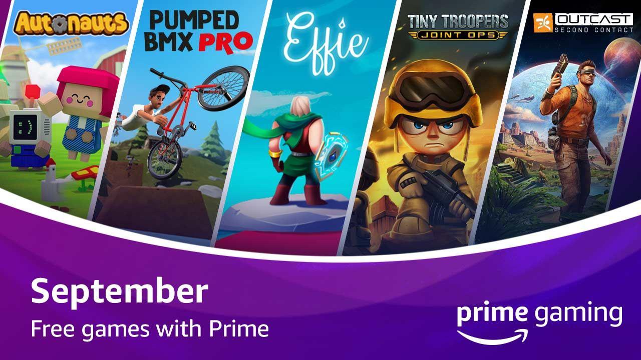 September's free Prime Gaming titles include Autonauts, Effie, Pumped BMX Pro, more thumbnail