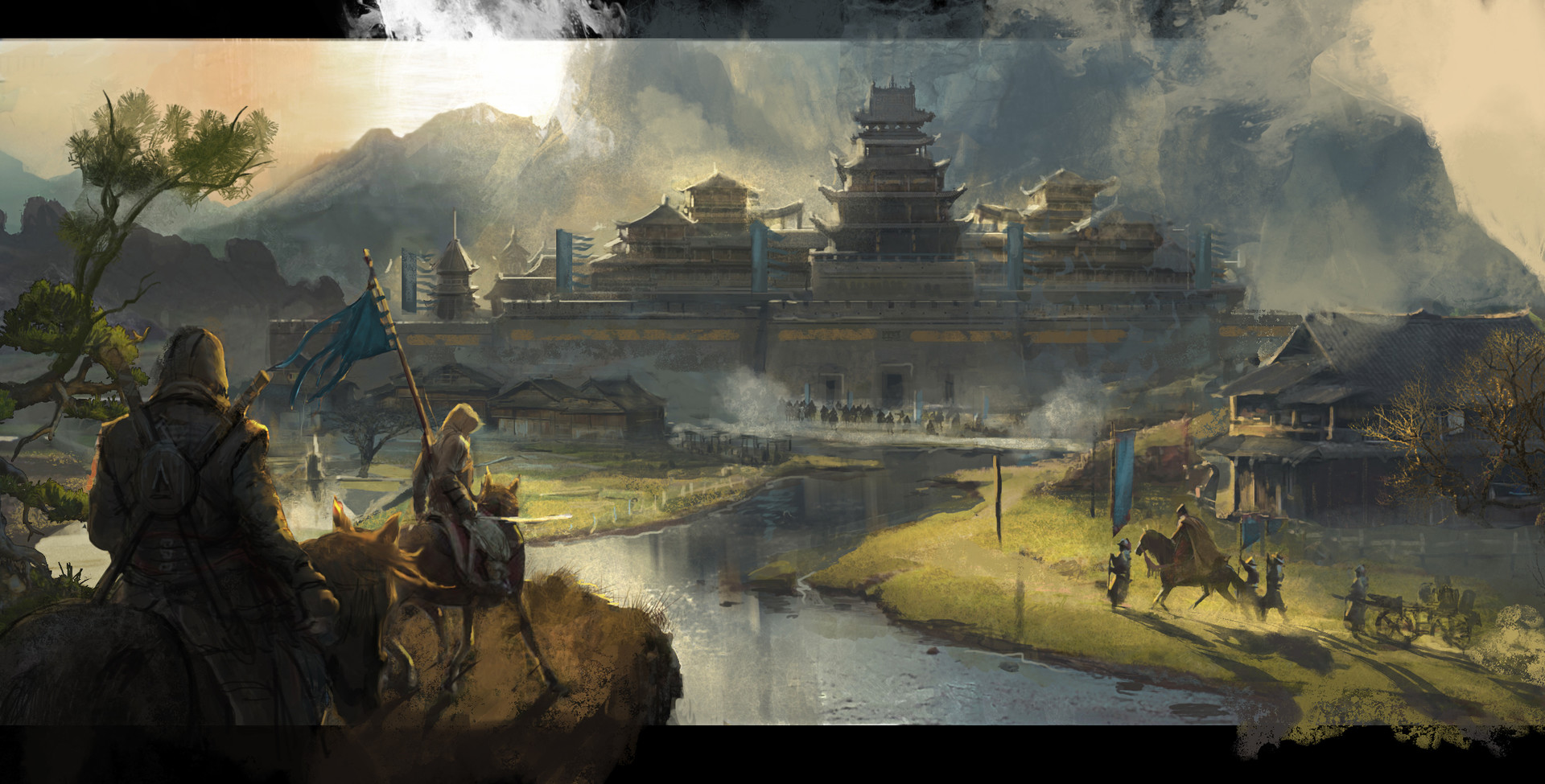 Concept Art For An Assassin S Creed Game Set In China Has Surfaced