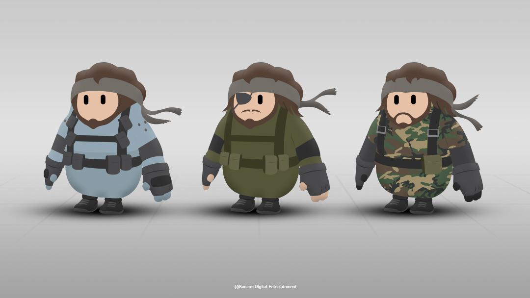Konami wants Metal Gear Solid skins in Fall Guys - VG247