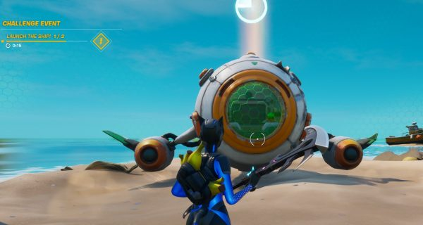 Rocket Take Off Fortnite Fortnite Astronaut Challenge Where To Find The Missing Spaceship Parts Vg247