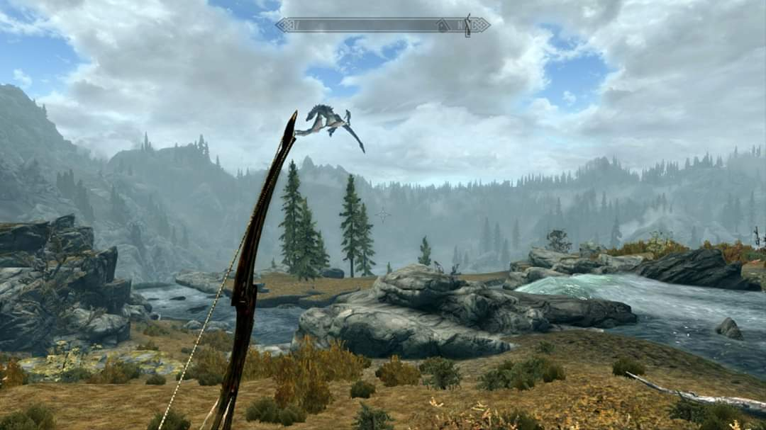 Giants won't stop flying around on dragons in Skyrim - VG247